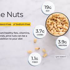 pine nut nutrition facts calories