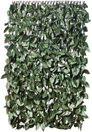 Gardenkraft 26140 2 X 1 M Dark Ivy Leaf Expandable Artificial Willow Fence Panel Screening Privacy Hedging Landscaping Green Garden Amazon Co Uk Garden Outdoors