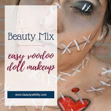 easy voodoo doll makeup