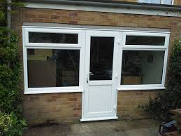 upvc window door combination