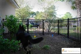Dog Fence Installation Atlanta Ga Raleigh Nc Orlando Fl Outdoor Dog House Dog Kennel Outdoor Dog Fence