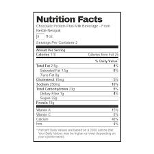 nestle nesquik protein plus chocolate