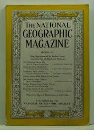 national geographic magazine volume