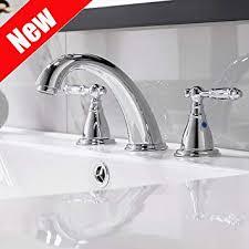3 hole widespread bathroom faucet