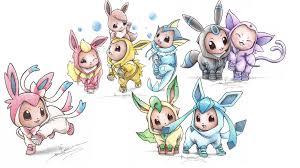 love this artist <3   Pokemon eevee, Pokemon, Baby pokemon