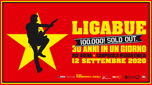Sabato 12 settembre 2020 – RCF Arena – Campovolo Reggio Emilia ...