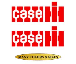 Case Ih Tractor Agriculture Logo Vinyl Sticker Car Bumper Window Decal Ebay