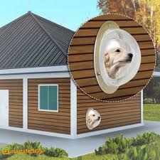 Durable Acrylic Pet Sight Window Dome Insert Fence Clear Outside Landscape Viewer For Cats Dogs Sn Shopee Philippines