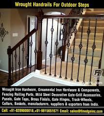 Wroughtironhardware Decorative Wrought Iron And Ornamental Iron Components Fencing Hardware Railing Parts Gate Grill Parts Wrought Iron Hardware Accessories Manufacturers Exporters In India Uk Usa Germany Italy Canada Uae Http Www