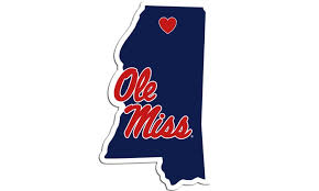 Ole Miss Rebels State Outline Die Cut Decal Window Car Laptop 2x5 Inches Groupon