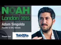 Adam Singolda, Taboola - NOAH15 London - YouTube