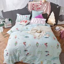 girls bedding set queen size reactive