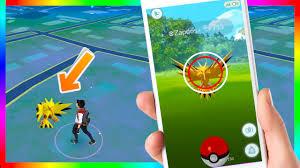 OMG! FIRST ZAPDOS CAUGHT IN POKEMON GO! UNBELIEVABLE! Footage of ZAPDOS  Caught in Pokemon Go - YouTube