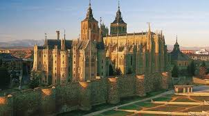 The Way and the Silver Route through Astorga, in Spain is Culture