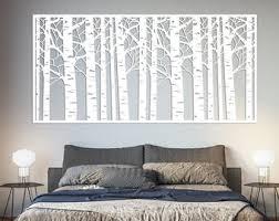 Birch Tree Wall Art Etsy