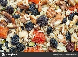 organic homemade granola oats nuts