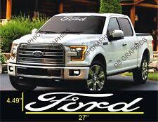 Ford Window Decals Graphics Decals For Sale Ebay