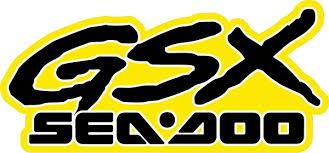 Sea Doo Gsx Decal Sticker 15