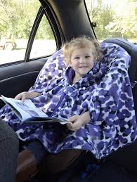 cat poncho boy girls car seat coat