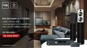 Khuyến mại đặc biệt cho các dòng sản phẩm loa Q Acoustics đến từ ...