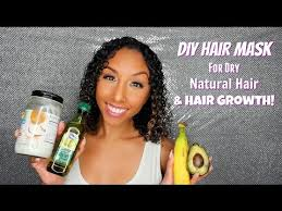 diy hair mask for dry natural hair and