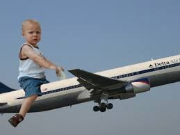 baby have to be for the first flight