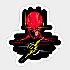 Jla Cw Reverse Flash Jla Cw Reverse Flash Sticker Teepublic