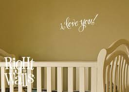 I Love You Message Wall Decals Vinyl Art Stickers