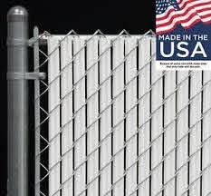 4 Ft High White Wave Slat Single Wall Privacy Chain Link Fence Slats Ebay