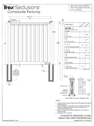 Building Product 5x5 Fence Posts 1028de4 Arcat