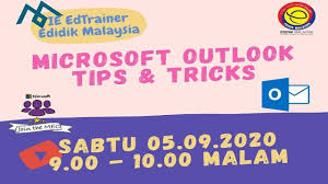 Tips and Tricks Microsoft Outlook - YouTube