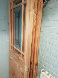 doors top half with decorative glass
