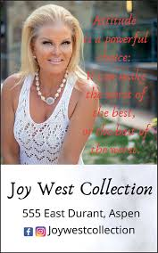 FRIDAY, AUGUST 7, 2020 Ad - Joy West Collection - Aspen Times