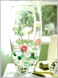 big glass vase centerpieces clear for a