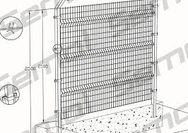 Triangular Bending Fence Wire Mesh Triangular Bend Fence Weld Mesh Sports Fencing Hebei Shengmai Construction Material