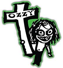 Amazon Com Ozzy Osbourne Cross Vynil Car Sticker Decal Select Size Arts Crafts Sewing
