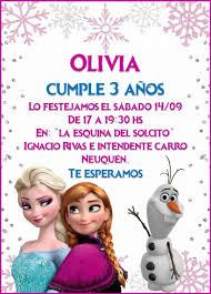 Invitacion Tarjeta Digital Cumpleanos Frozen P Enviar Wp 100