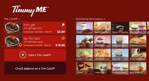 official tim hortons app now available