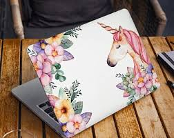 Unicorn Laptop Cover Etsy