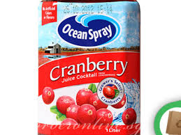 ocean spray cranberry juice l