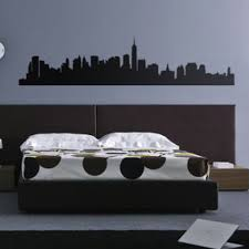 New York Skyline Wall Decal Decalmywall Com