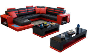 luxury modern u shaped couch living