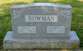 Cletus Andrew Bowman (1901-2000) - Find A Grave Memorial