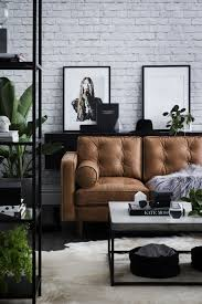 An exposed brick wall in a room doesn't always mean industrial. Moreover if  we talk … | Modern industrial living room, Elegant living room, Industrial  chic interior