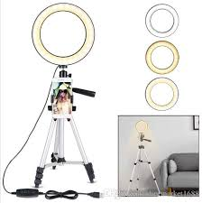 2020 6 2 ring light with tripod stand
