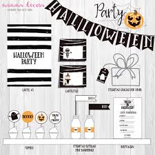 Imprimible Halloween Party Mister Miss Party