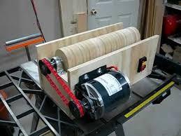 v drum sander build part 1 you