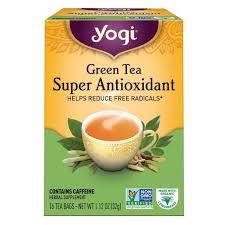 yogi tea green tea super antioxidant 16
