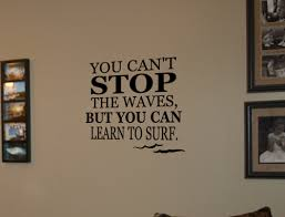 Learn To Surf Wall Decals Trading Phrases