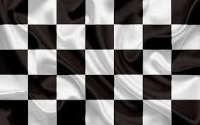 تحميل خلفيات العلم متقلب أبيض أسود العلم الانتهاء من العلم الحرير الأعلام عريضة 2560x1600 جودة عالية Hd صور خلفيات